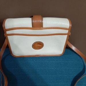 Vintage Dooney and Bourke leather handbag